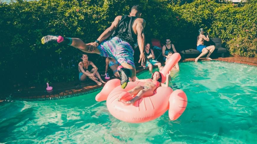 Une immense pool party débarque en plein cœur de Lyon !
