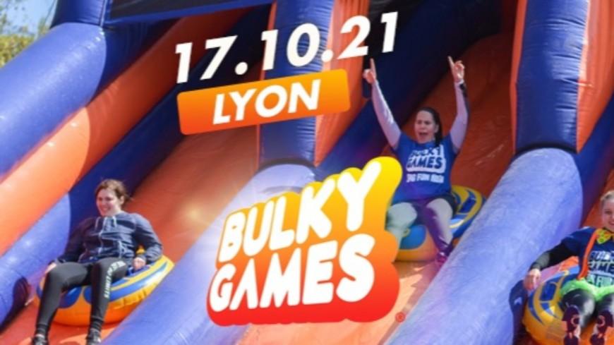 Une course à obstacles gonflables géants débarque à Lyon !