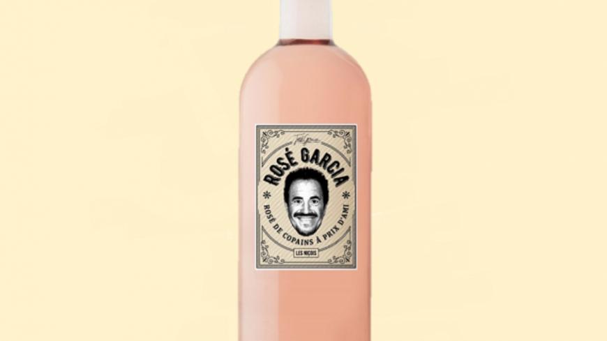 """José Garcia sort son propre vin appelé """"Rosé Garcia"""""""