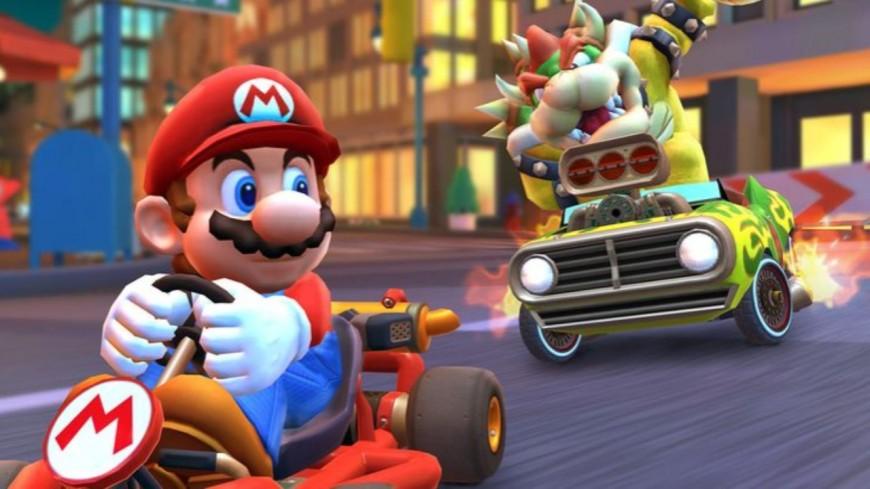 Avis aux fans de karting : Un circuit inspirée de l'univers Mario Bros a ouvert ses portes !