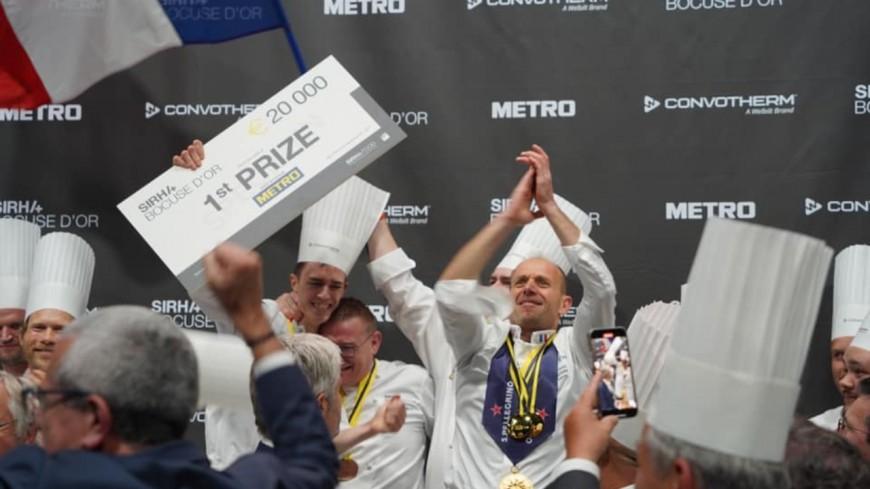 Bocuse d'Or 2021 : Le lyonnais Davy Tissot remporte le prix !