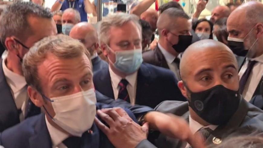 Jet d'oeuf sur Emmanuel Macron : L'homme a été placé en hôpital psychiatrique !