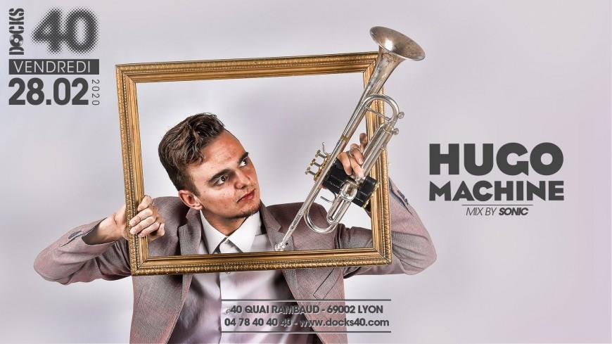 Trumpet show by Hugo Machine
