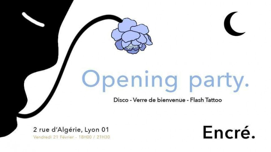 Opening party by Encré