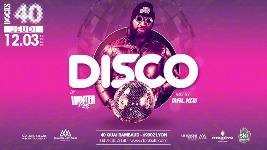 Winter Party spéciale Disco au DOCKS 40