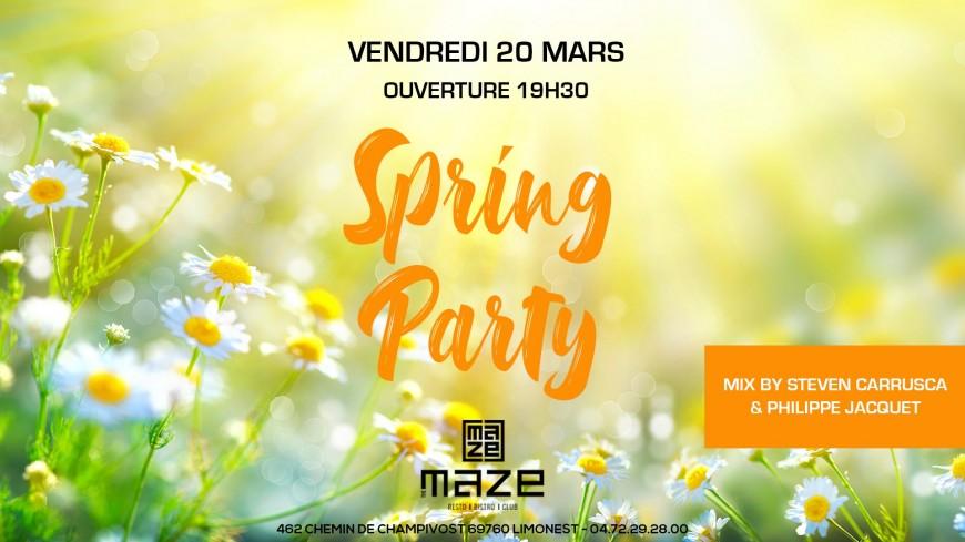 La Spring Party du Maze