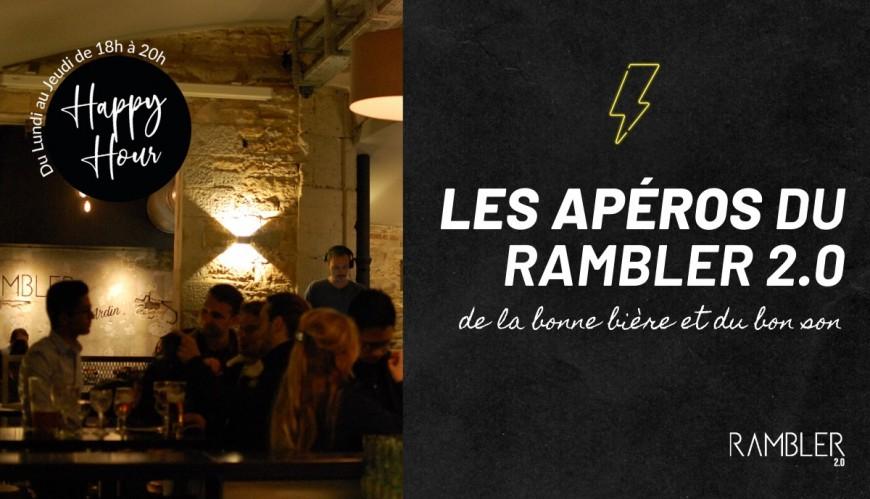 Afterwork DJ - HAPPY HOUR au Rambler 2.0