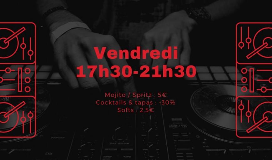 Friday Night Fever - Dj Set au Midi Minuit République
