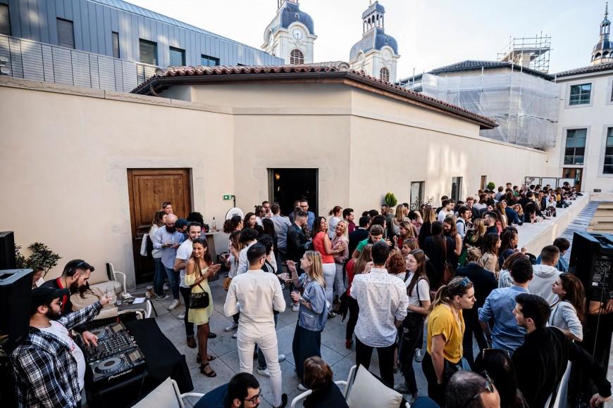 Rooftop Party — Omā au Grand Hôtel-Dieu