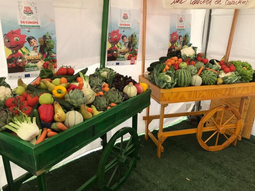 Mercredi : La Fête des Fruits & Légumes Frais à la Place Antonin Poncet